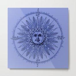 Periwinkle Blue Metal Print