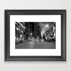 5th Ave Noir Part 3 Framed Art Print