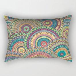 Millefiori Mandala Rectangular Pillow