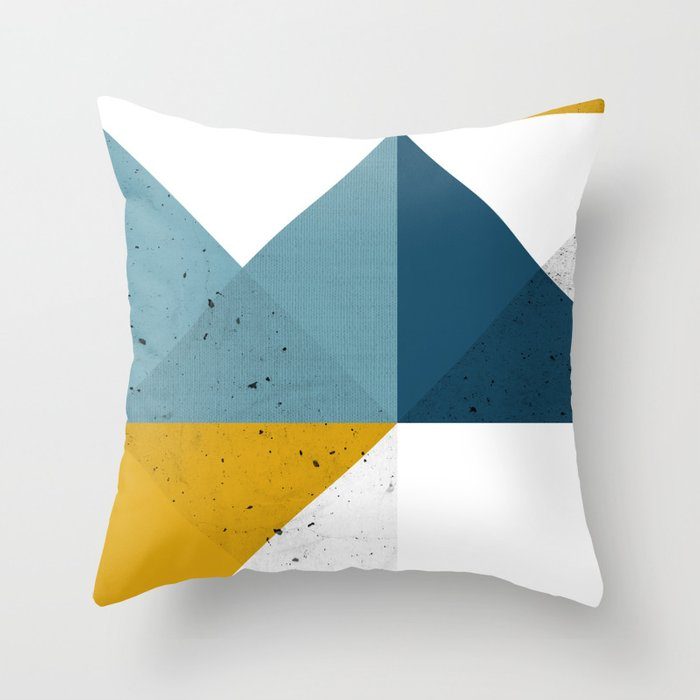 Modern Geometric 19 Throw Pillow