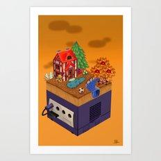 Animal Crossing- Fall Art Print