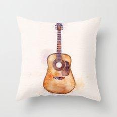 Martin Guitar Throw Pillow