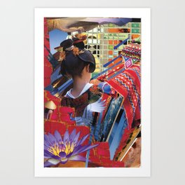 BVB Series - China Girl Vampire Art Print