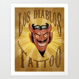 Los Diablos Art Print