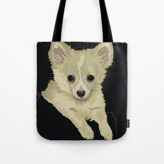 Long Hair Chihuahua Tote Bag