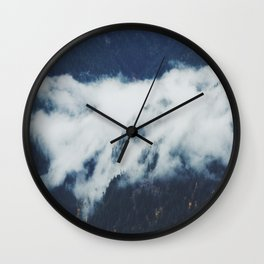 The Fog in the Trees Wall Clock