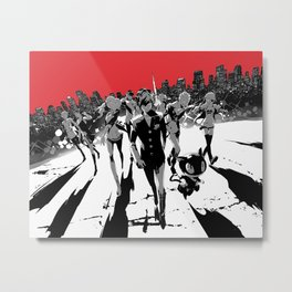 Thieves in the Night Metal Print