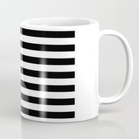 flag Mugs featuring Flag by Blindspots Arts