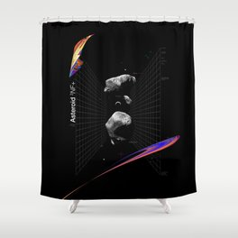 Asteroid 3NF+ Shower Curtain