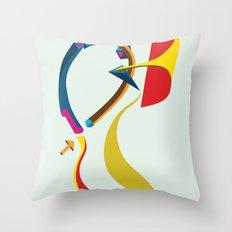 Slides Throw Pillow