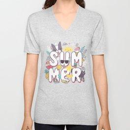 Summer Unisex V-Neck