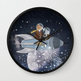 creating stars Wall Clock