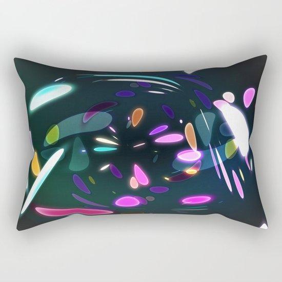 Vibrant shards Rectangular Pillow