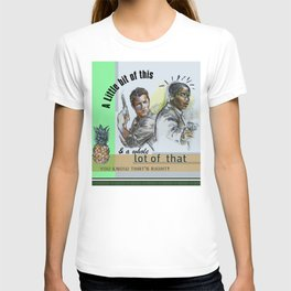 """""""A Little bit of this & a Whole Lot of That"""" - Psych Quotes T-shirt"""