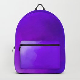 Dreamy Lavender Indigo Clouds Abstract Backpack
