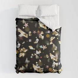 Colorful Gems and Crystals Comforters