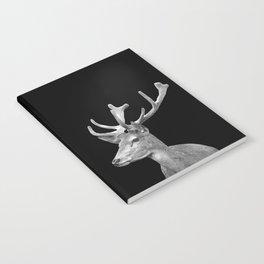 Deer Black Notebook