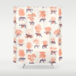 Where they Belong - Tigers Shower Curtain