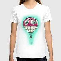 baloon T-shirts featuring Acrophobia Baloon by Tayler Kiiim