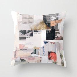 Completely Empty Throw Pillow