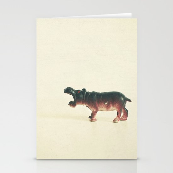 Hungry Hippo Stationery Cards