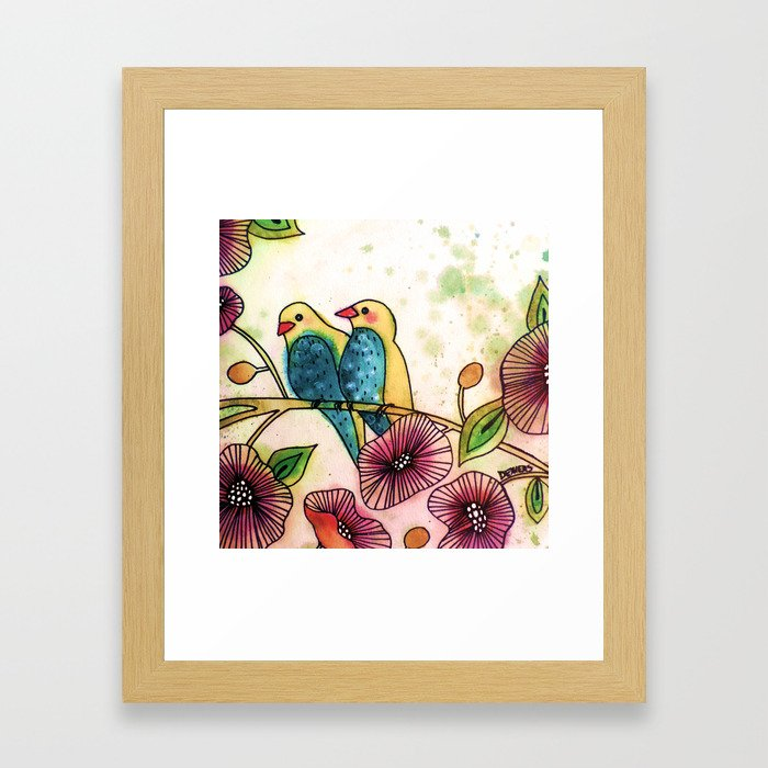 let's go there Framed Art Print