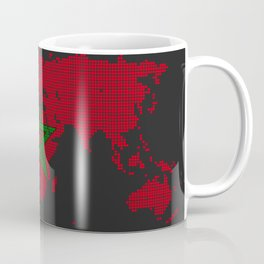 Morocco flag Coffee Mug