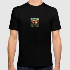Boba Fett Mens Fitted Tee Black X-LARGE