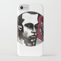 nick cave iPhone & iPod Cases featuring Nick Cave by Rafols