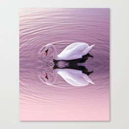 Graceful reflection Canvas Print