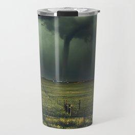 Tornado Coming (Color) Travel Mug