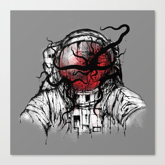 Space Parasitism Canvas Print