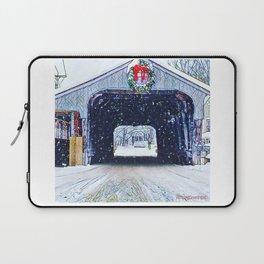 Vermont Covered Bridge Sugabush Laptop Sleeve
