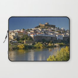 Mertola river view, Portugal Laptop Sleeve