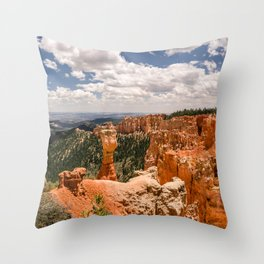 Agua Canyon at Bryce Canyon National Park Throw Pillow