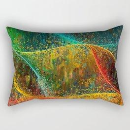 Abstract Curves Rectangular Pillow