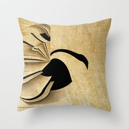 Ride The Swan Throw Pillow