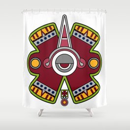 Quincunce Shower Curtain
