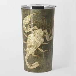 Beautiful scorpion mandala Travel Mug