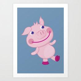 Pigg'o Art Print