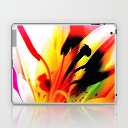Abstract Of The Lily Laptop & iPad Skin