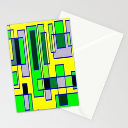 Yellow green 6767 Stationery Cards