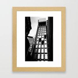 London Lift Framed Art Print