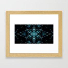 Alien Star Framed Art Print