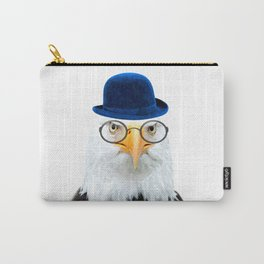 Funny Eagle Portrait Carry-All Pouch