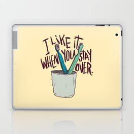 STAY OVER Laptop & iPad Skin