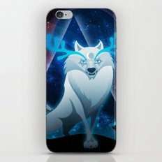 The wonder wolf iPhone & iPod Skin