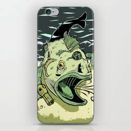 Something Fishy this way Comes iPhone Skin