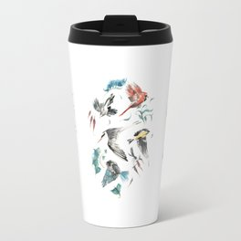 Birdwatching Travel Mug