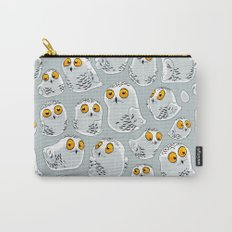 Snowy Owls. Carry-All Pouch